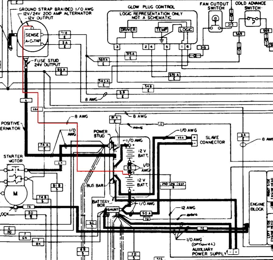 wiring is my 200 amp regulator dying? g503 military vehicle message forums unimog 404 wiring diagram at bakdesigns.co